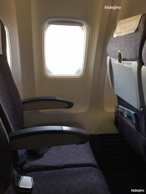 座席の様子