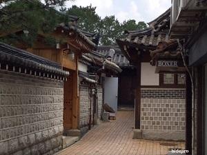 仁寺洞の建物