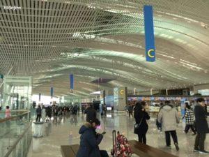 仁川第二ターミナルの風景