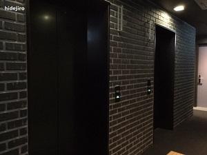 エレベーターもこだわりあり