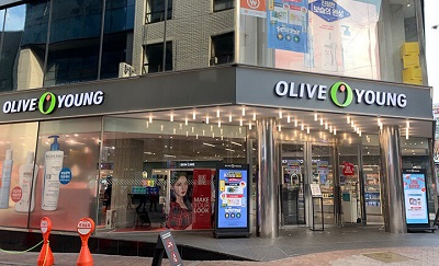 Oliveyoungの店
